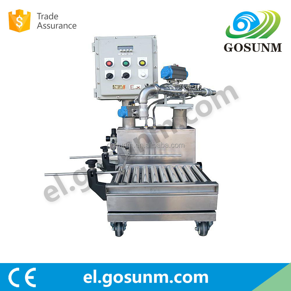 Alibaba China supplier coating paint filling machine