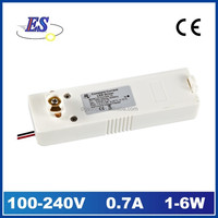 6W 700mA AC-DC Constant Current Track Adaptor