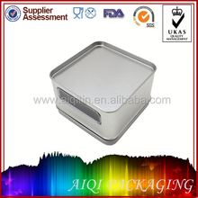 2014 newest hot selling shallow round tin can