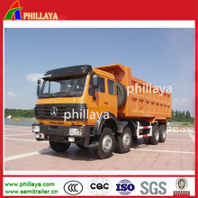 Powerful Sinotruk Howo 6x4 25 CBM 2 axle Heavy Duty Rear Dump Truck Tipper Semi Trailer