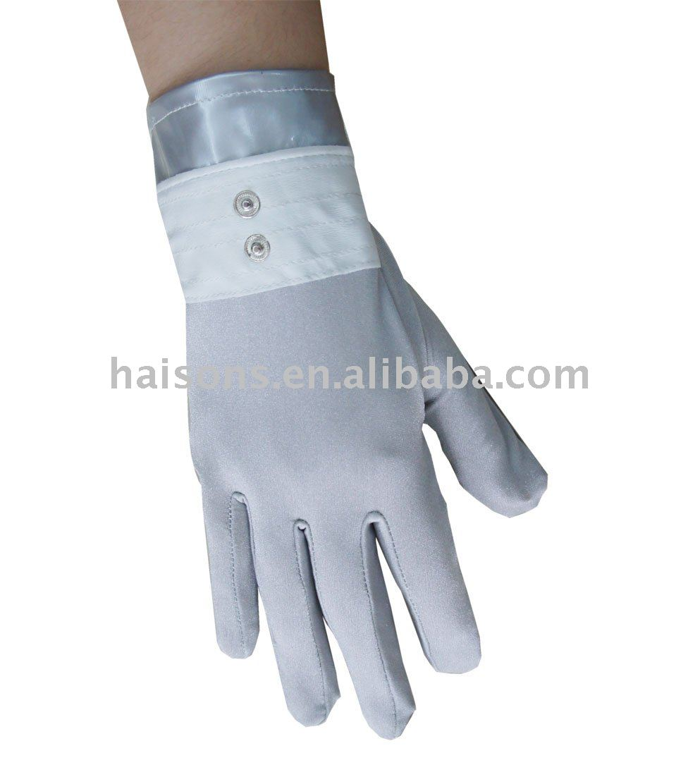 Facial electrical massage gloves