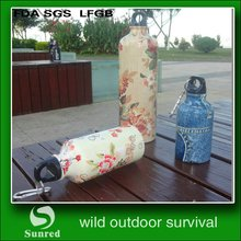 modern manufacture stainless sports water bottle big mouth
