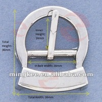 Round Belt / Bag Buckle (M16-247A)