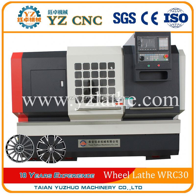 New Style Alloy wheel repair CNC Lathe drilling machine