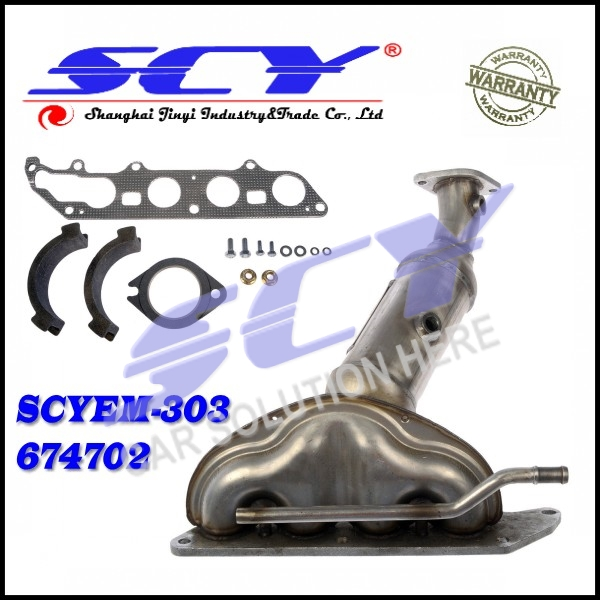 Exhaust Manifold Front fits 03-07 for Ford Focus 4S4Z-5G232-CB 4S4Z5G232CB 5S4Z-5G232-A 5S4Z5G232A 7S4Z-5G232-A 7S4Z5G232A