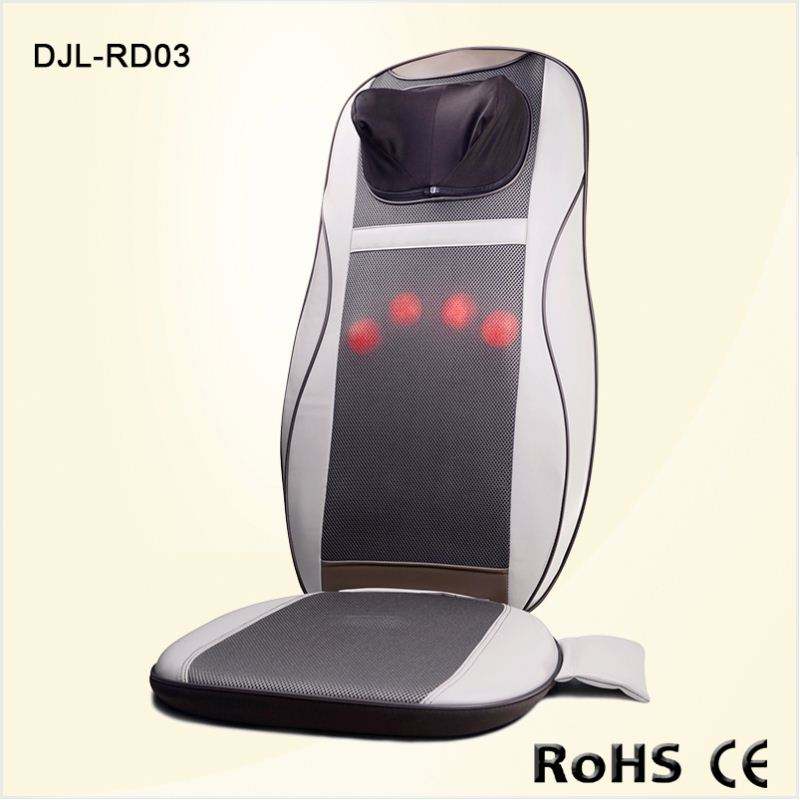 Muscle Relaxer Roller Electric Massage Cushion with CE Vibration