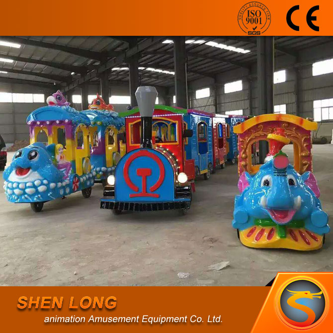 Electric amusement kids train for mall/park/ playground