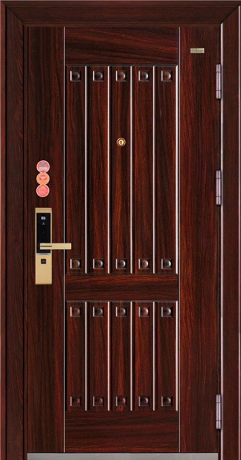 steel security door, china steel door, cheap metal door