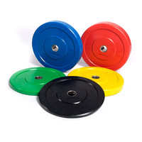 Weight Training Cast Iron Olympic Rubber Coated Weight Plate