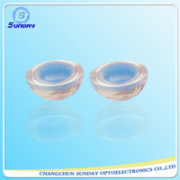 Fused silica half ball lens 5mm