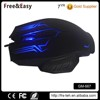 Backlit wired optical laser carving RGB gaming mouse
