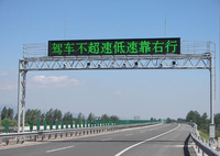 High Quality p8 traffic highway vms signs outdoor full color led display