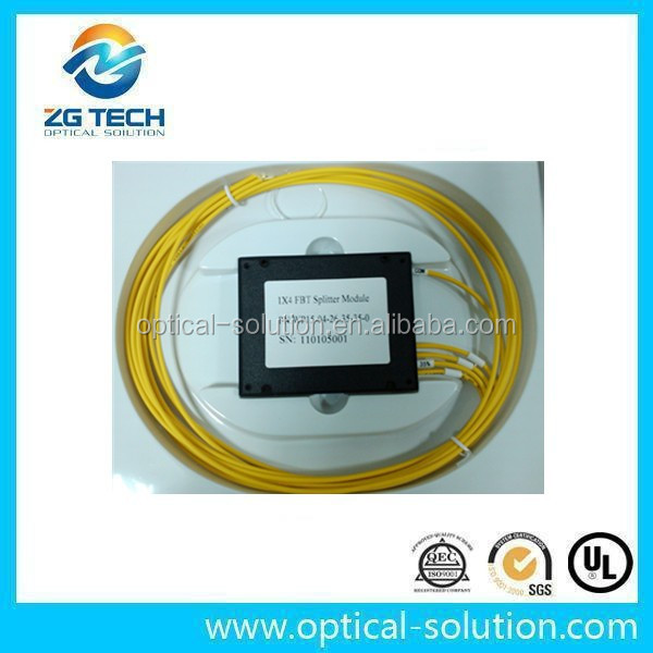1310/1550 SM passive optical coupler/splitter for CATV/PON/GPON system 1x4