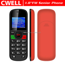 UNIWA V710 Unlocked GSM Dual SIM card SOS Button Large Font Senior Care Big speaker mobile phone