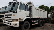 Used Nissan 6*4 model truck right-cabin drive Nissan25t CWB459 tipper Nissan CWB459 right hand dump truck for sale