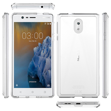 Anti Scratch TPU Acrylic Case For Nokia 6 / 5 / 3 Full Cover