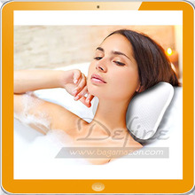 Spa Bath Tap Pillow Gift Set with 2 Strong Suction Cups