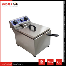 CHINZAO Chinna Alibaba High quality oil capacity 6L churro machine and fryer