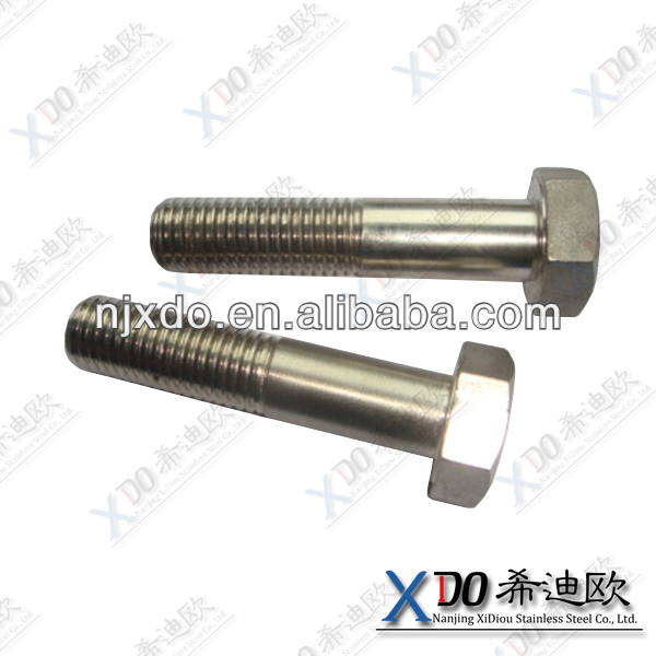 904L N08904 1.4539 hex bolts in inches round head square neck carriage bolt security hex nuts