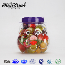 Plastic jar for gummy fruit jelly candy mini cup pudding