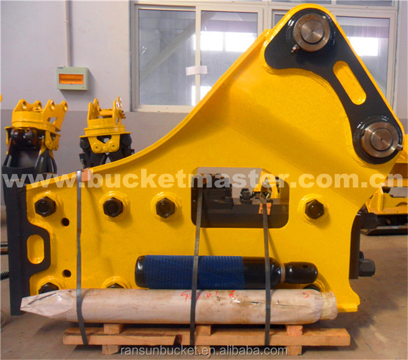 NM400 HARDOX500 Material hydraulic vibratory hammer fit to 1-50t excavator