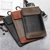 "6"" Soft Handmade Luxury Leather Waterproof Mobile Phone Bag for General Mobile 4g Phone Bag Case"