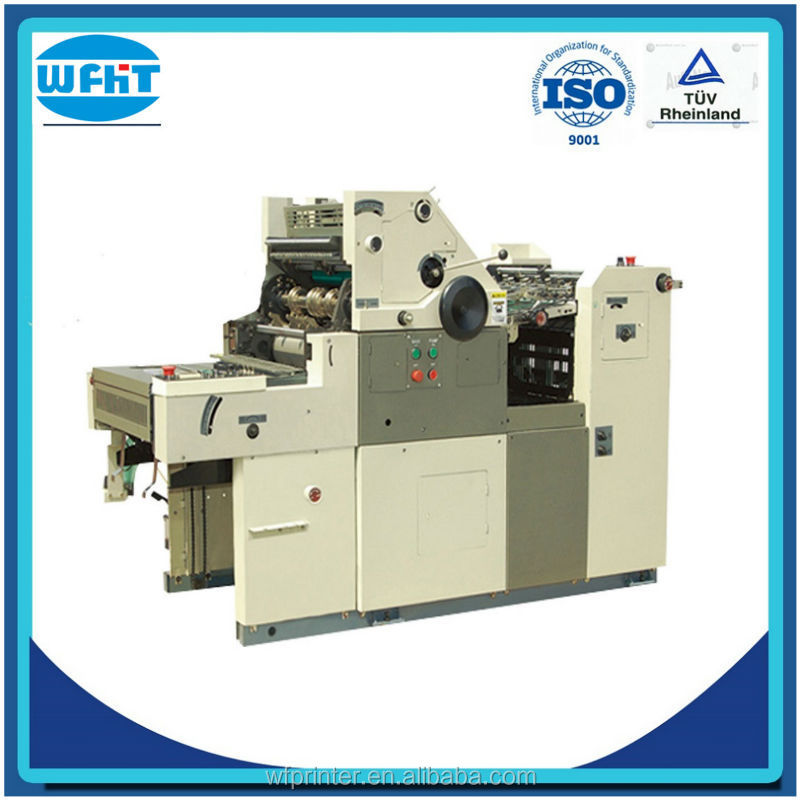 HT62II one color three ink new solna offset printing machine