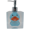 Fashion Blue Duck Transparent Resin Cute