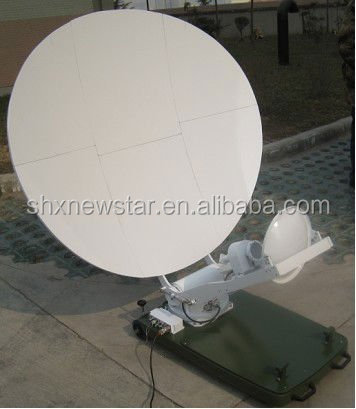 1.2 m Gregory Ku band hot sale cheap china VSAT automatic fly away satellite communication antenna