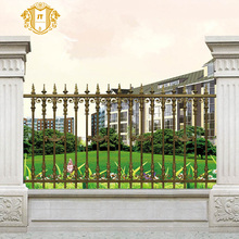 Factory price wrought iron fences/picket fences for house garden and yard