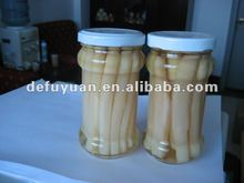 2016 china new fresh canned white asparagus wholesale in class 370 ml or 212 ml