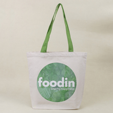 Recyclable promotion canvas cotton tote bag , canvas shopping bag