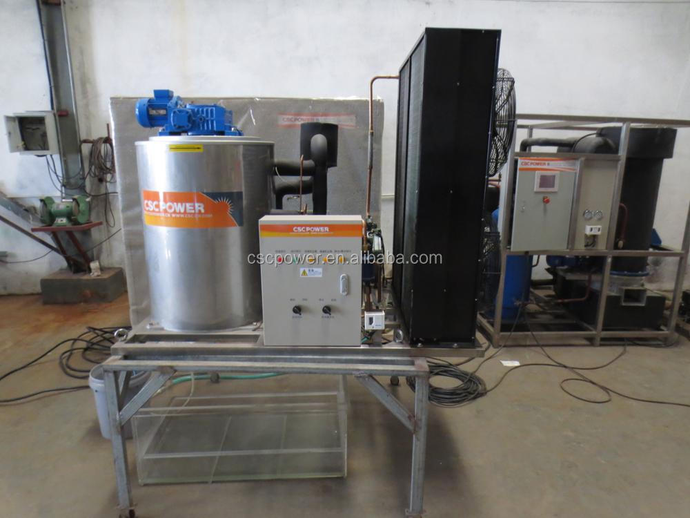 cscpower automatic water cooled flake ice making machine rental