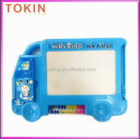 New style educational toy car-like kids writing board with counting frame