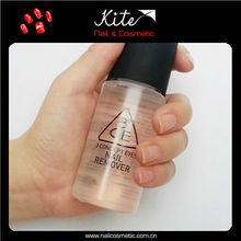 Private label nail polish remover /custom nail polish remover bottle included