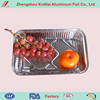 Free Sample China Manufacturer Various Sizes Silver Disposable Aluminum Foil Catering Serving Tray