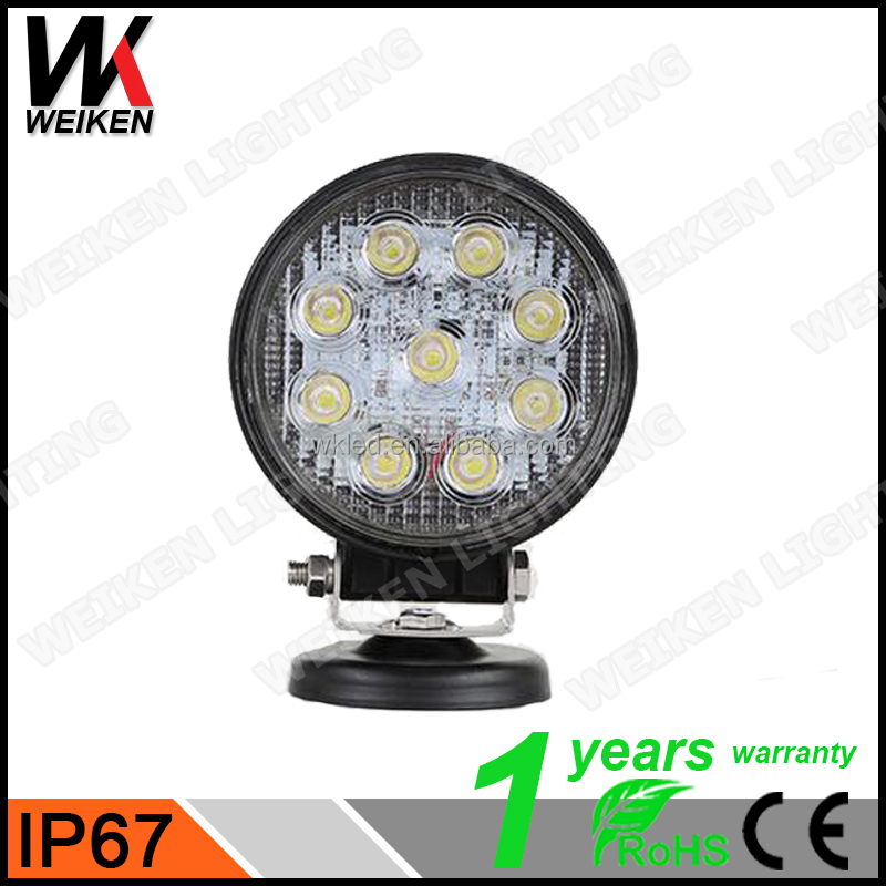 WEIKEN 27w CREEs LEDS Off road and SUV vehicle Working Lights led tractor work light