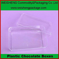 Promotion fashion plastic storage case gift chocolate storage container