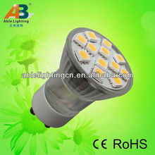 diameter 35mm gu10 led spot light 12v 12smd