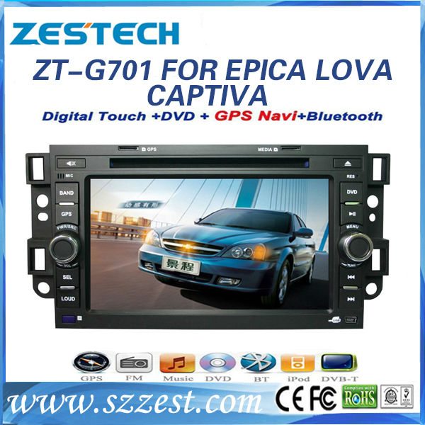 ZESTECH double din car auto dvd for Chevrolet Epica gps navigation year for 2006-2011