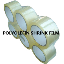 Transparent flexible printing polyolefin plastic heat shrink film roll
