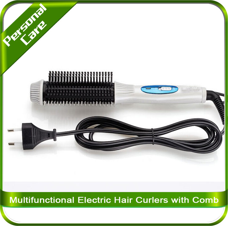 Multifunctional Electric Hair Curlers with comb