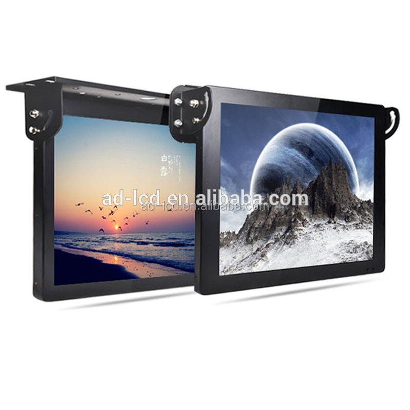 "15"" wireless roof mounting Bus LCD Advertising Player"