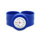Fashion sport and best quality watch promotional silicone slap watches