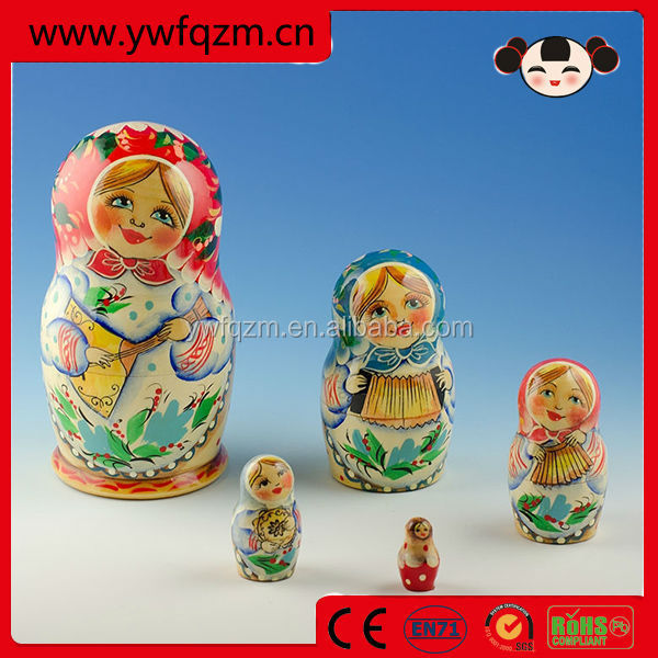 2014 Wholesale Good Quality Russian Wooden Handicraft