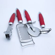 High Quality Kitchen Gadget Accessories Stainless Steel Cooking Assistant Small Kitchen Tools with PP+ABS handle sets