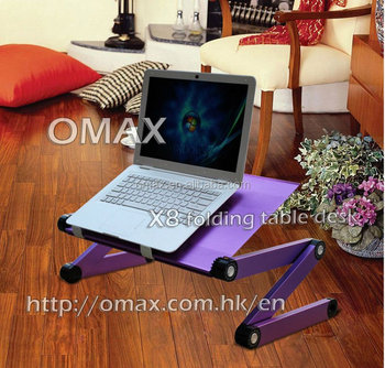 Folding laptop stand, light weight protable folding Ipad holder