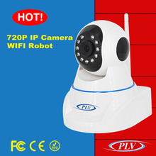 wholesale price wifi 360 degree cctv baby camera with pan tilt head support sd card storage