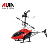 Helicopter RC flight toy mini heli drone light up aircraft ball built-in shinning LED lighting kid toy flying car for children
