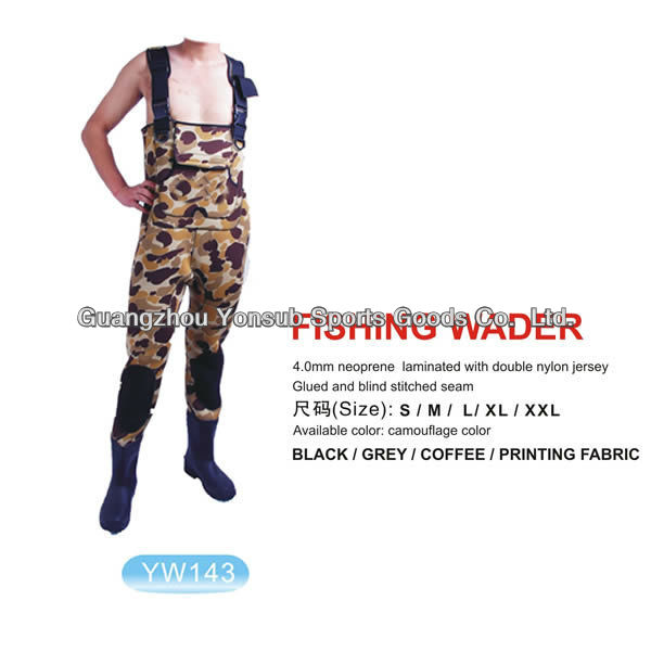 Waterproof Neoprene Fishing Waders